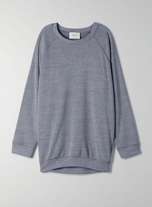 RACHEL SWEATER - Crew-neck fleece sweater