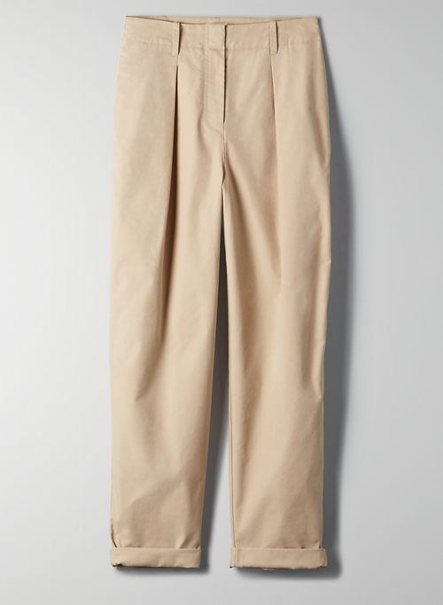 DAY-OFF PANT - Relaxed high-waisted pant