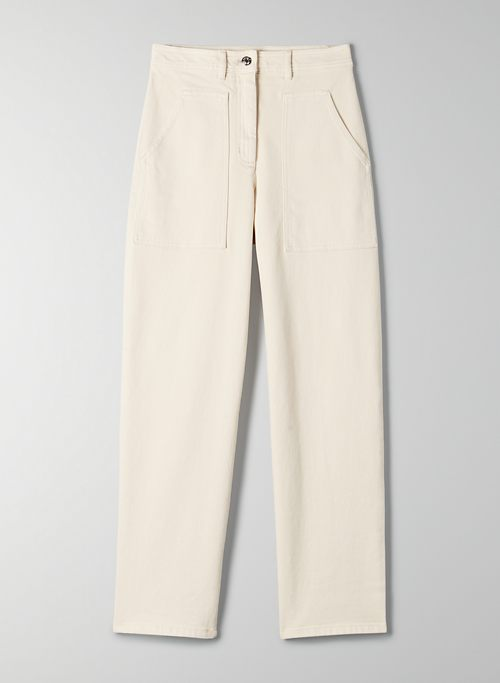 MODERN UTILITY PANT - High waisted, utilitarian pant