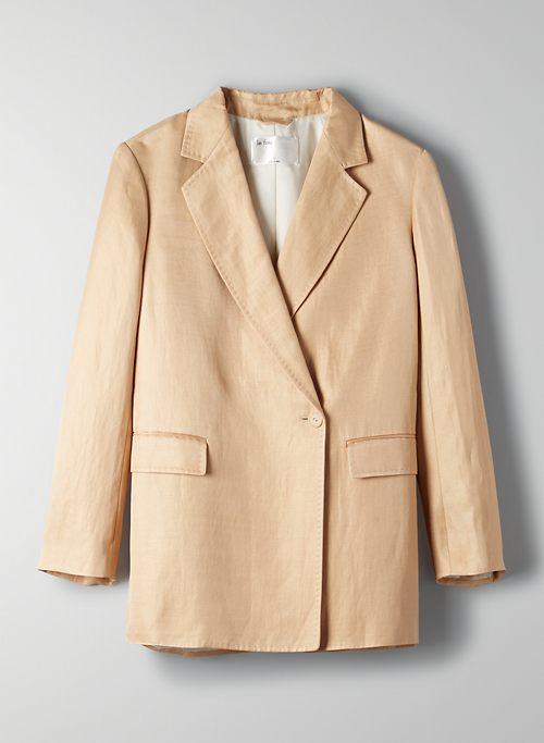 TANGO BLAZER - Belted, oversized blazer
