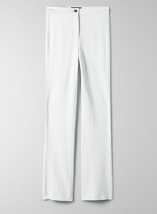 MINI-FLARE PANT - High-rise, flared pants
