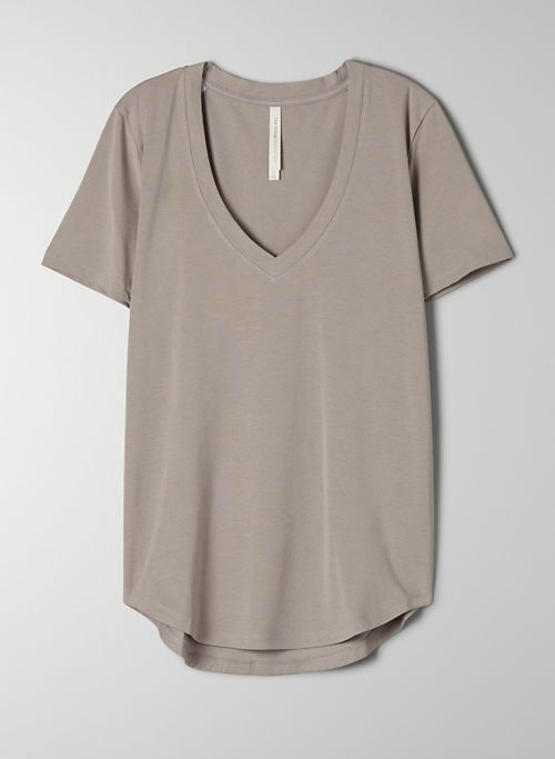 FOUNDATION V-NECK T-SHIRT - Pima Cotton V-neck t-shirt
