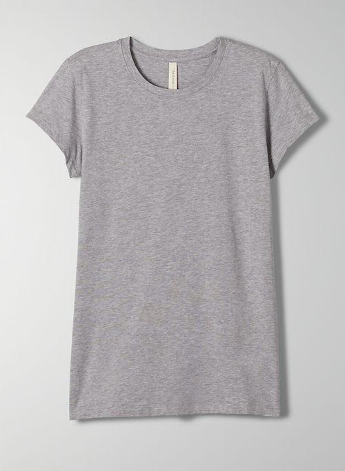 FOUNDATION CREW T-SHIRT - Pima cotton crew-neck t-shirt