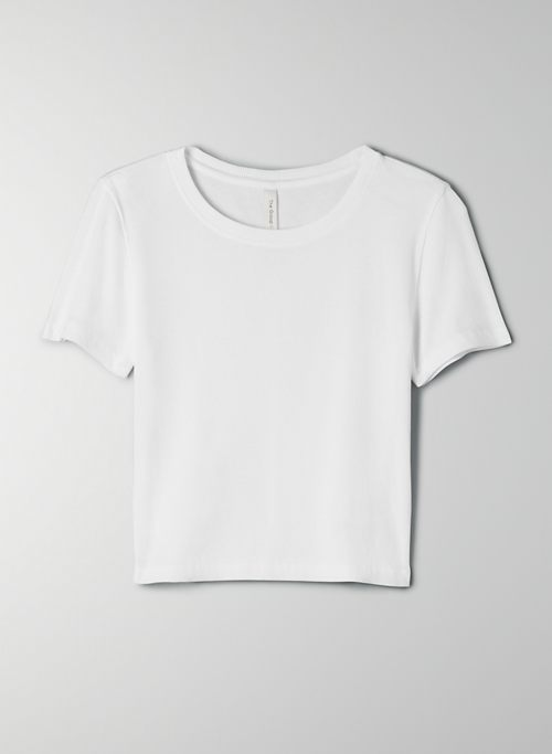 FOUNDATION RIB T-SHIRT - Ribbed, cotton baby t shirt