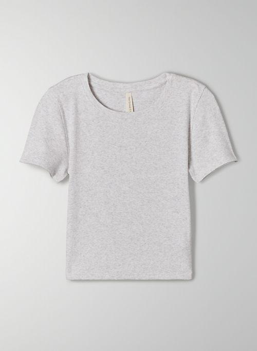 FOUNDATION RIB T-SHIRT - Ribbed, cotton baby t shirt