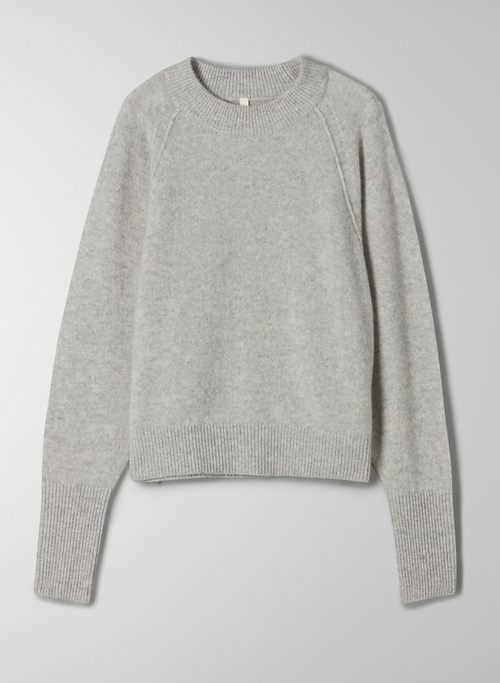 LUXE CASHMERE CLASSIC CREW - Crew-neck cashmere sweater