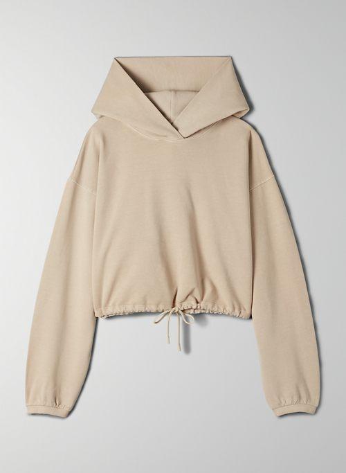 WEEKENDER HOODIE - Cinchable pullover hoodie