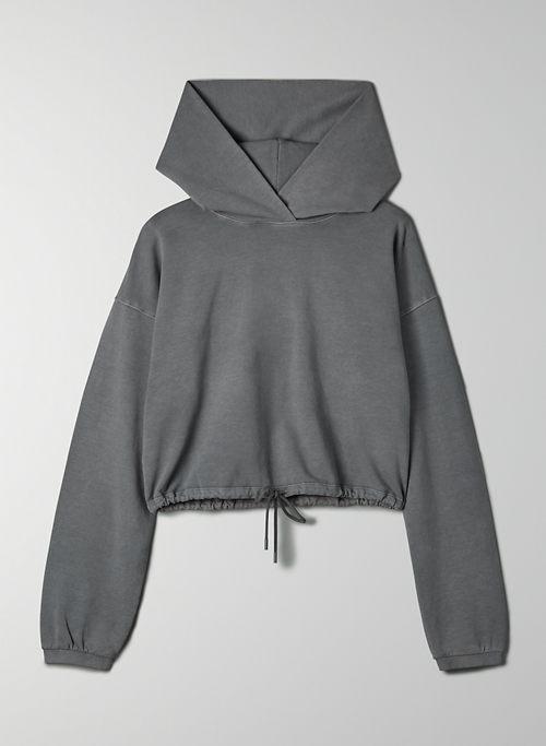 WEEKENDER HOODIE - Cropped, cinchable hoodie