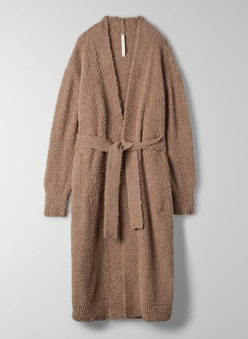 RETREAT CARDIGAN - Long robe-style cardigan