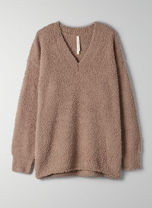 RETREAT SWEATER - Relaxed V-neck sweater