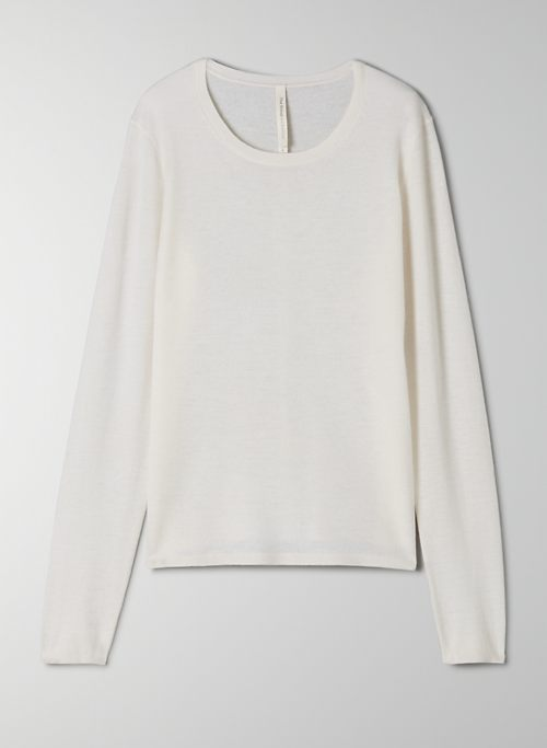 MCCLOUD CASHMERE SWEATER - Lightweight cashmere longsleeve