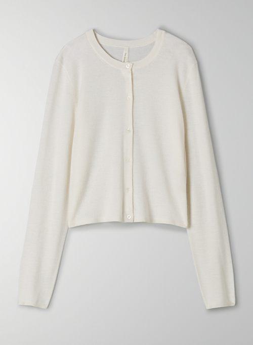 ROUND-TRIP CASHMERE CARDIGAN - Lightweight cashmere cardigan