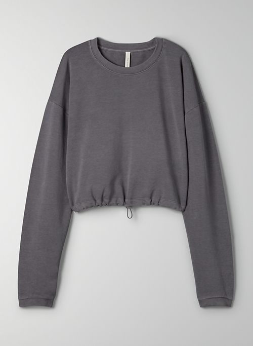 REGION SWEATSHIRT - Cropped crew-neck sweater