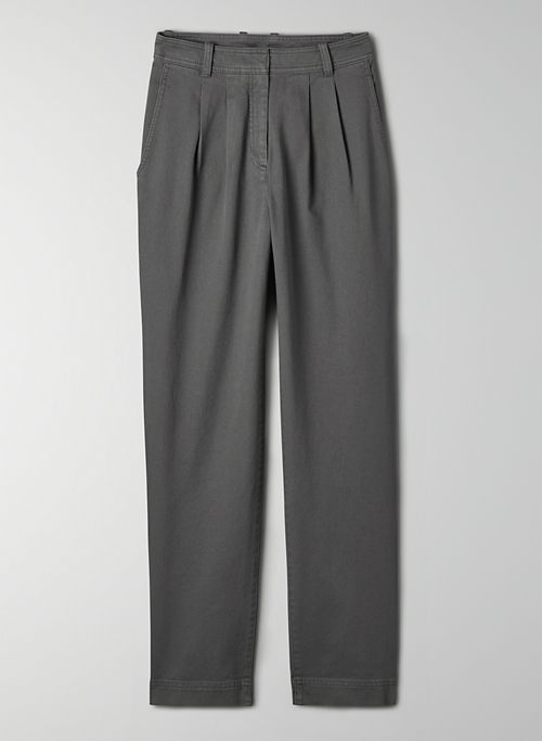 ANTARES PANT - High-waisted pleated pant