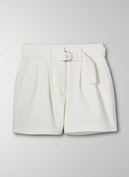 ANTARES SHORT - High-waisted, pleated cargo shorts