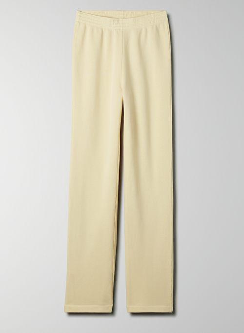 BENSON PANT - Refined fleece pant