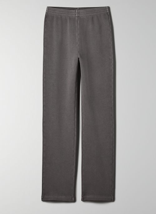 BENSON PANT - Refined fleece pant
