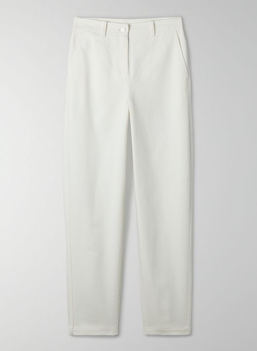 GARDNER PANT - High-waisted carrot pant