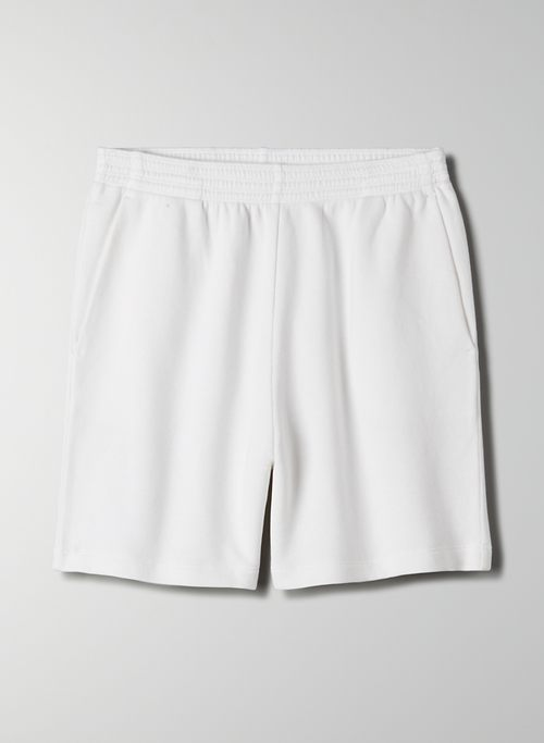 OFFSHORE SHORT - High-waisted, organic cotton sweatshort