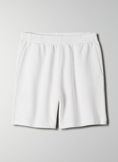 OFFSHORE SHORT - High-waisted organic cotton sweatshort