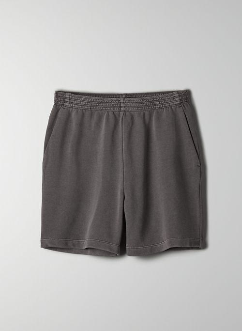 OFFSHORE SHORT - High-waisted organic cotton sweatshort