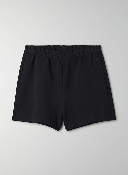 COASTLINE SHORT - High waisted, slim sweat shorts