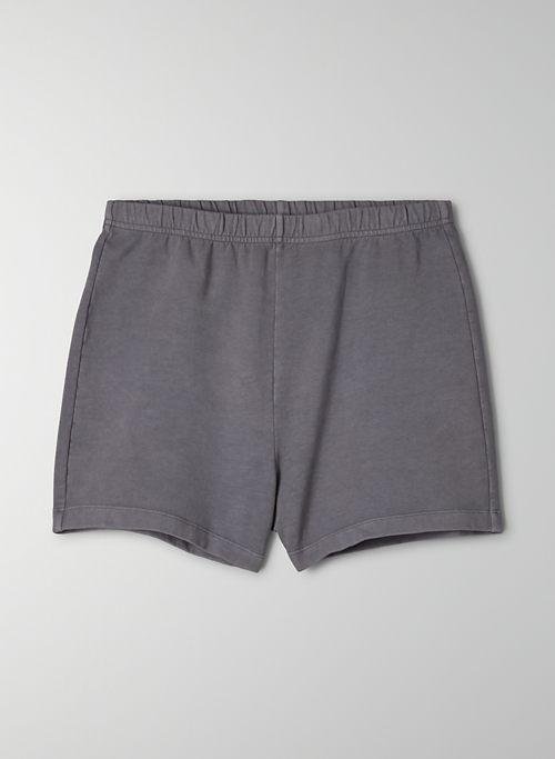 COASTLINE SHORT - High waisted, slim sweat shorts