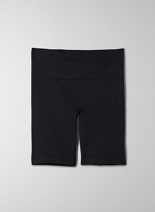 SILHOUETTE SEAMLESS SHORT - High-waisted seamless bike short