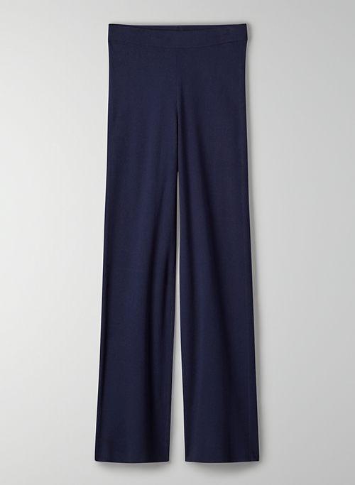 LUNA PANT - High-rise knit pant