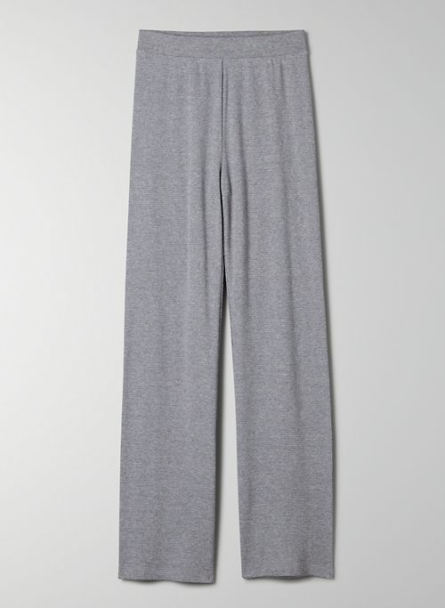 EARL PANT - High-waisted, straight-leg thermal jogger