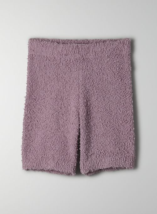 RETREAT SHORT - Cozy high-waisted short