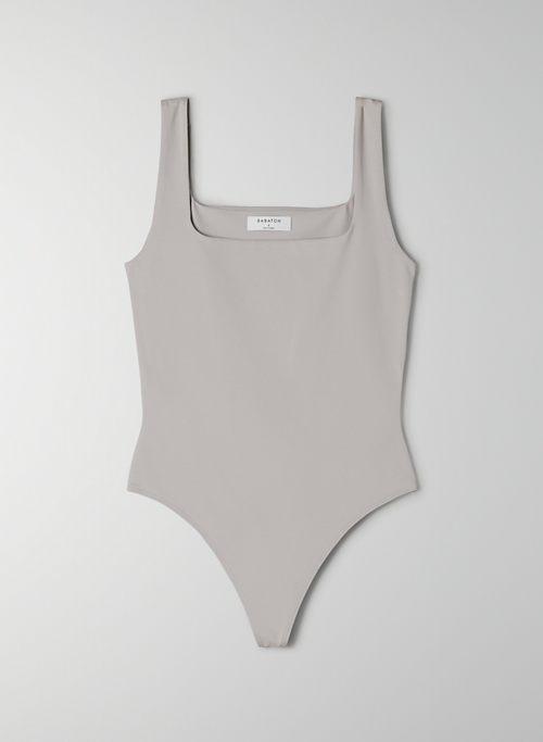 CONTOUR BODYSUIT - Square-neck tank bodysuit