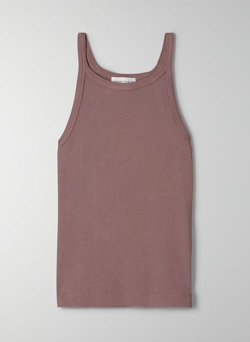 THE JANE RIB TANK - Ribbed tank top