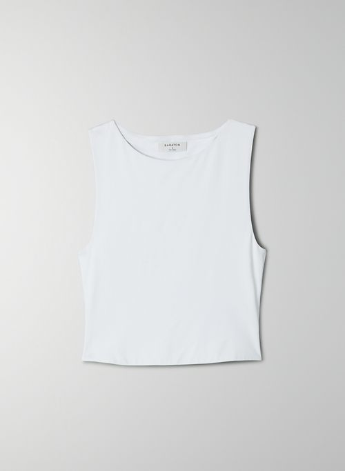 CONTOUR CROPPED TANK - Cropped, crew-neck tank