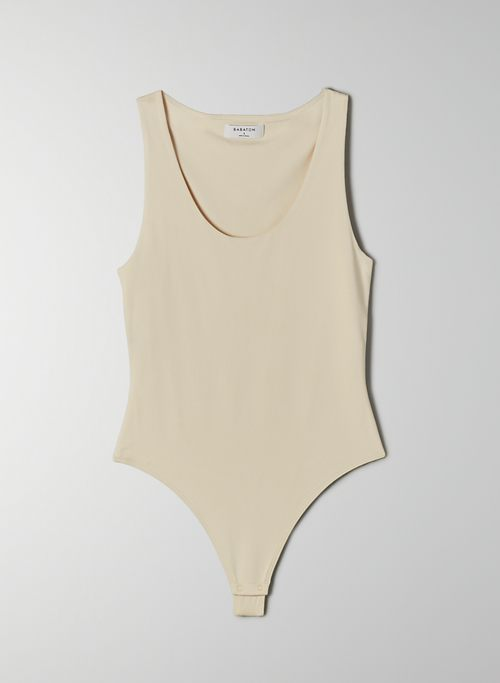 CONTOUR SCOOPNECK BODYSUIT - Sleeveless scoop-neck bodysuit