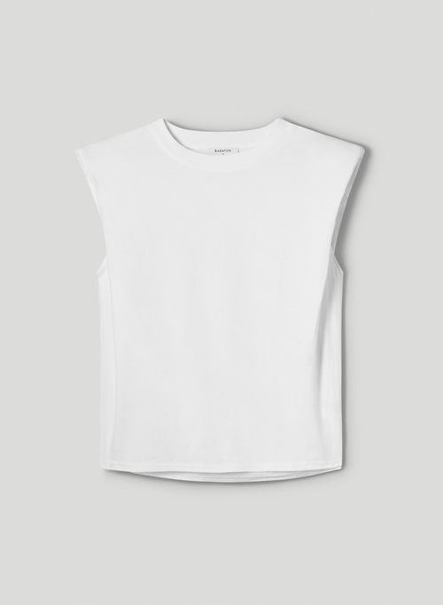 SHOULDER PAD T-SHIRT