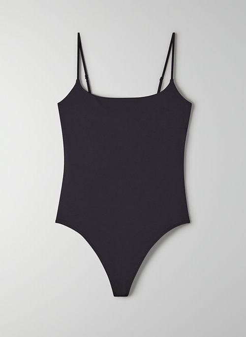 SIERRA CONTOUR BODYSUIT - Cami, square-neck bodysuit