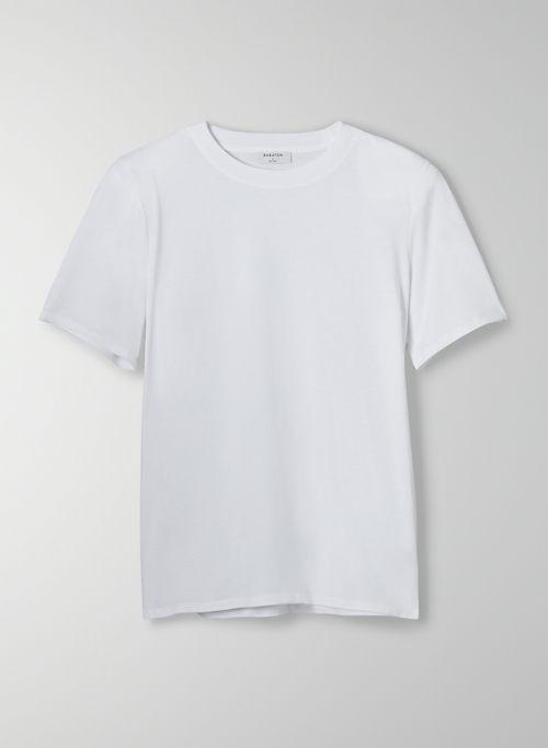 HOOK T-SHIRT - Cotton t-shirt with shoulder pads