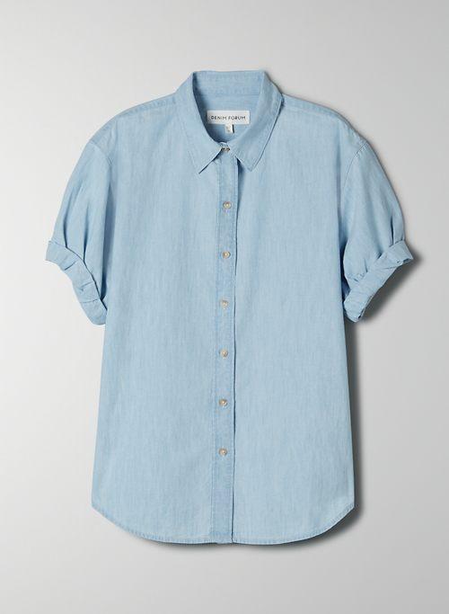 THE JANE SHIRT - Short-sleeve button-up