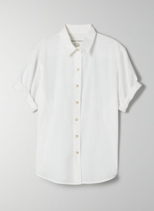 THE JANE SHIRT - Short-sleeve button-up