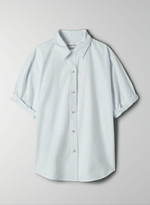 THE JANE SHIRT - Short-sleeve button-up shirt