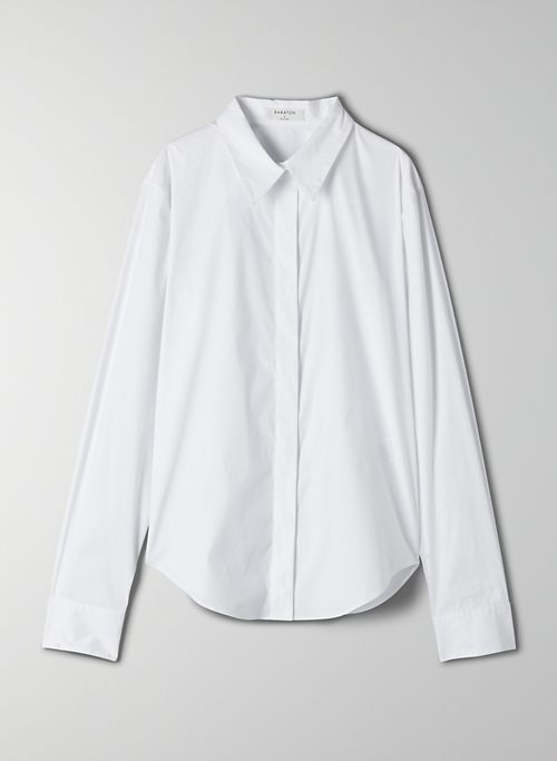 BURKE BUTTON-UP - Poplin button-up shirt