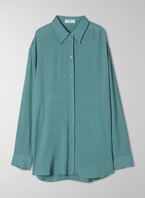 ALEXANDER BLOUSE - Long-sleeve, button-up blouse