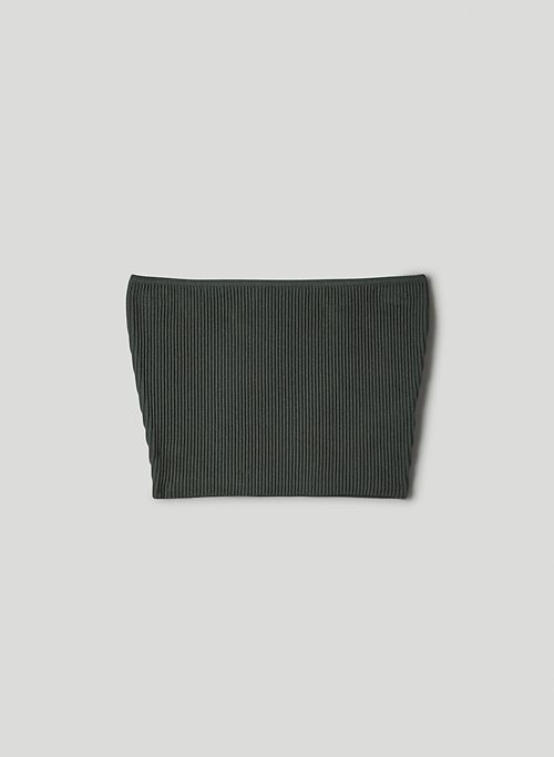 SCULPT KNIT TUBE TOP - Cropped, knit tube top
