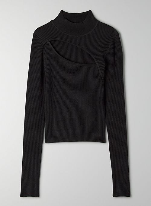 IMPRINT SWEATER - Cropped long-sleeve sweater