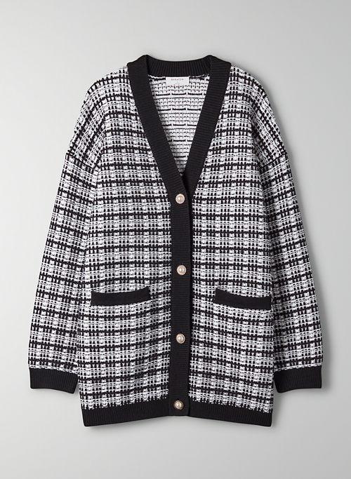 LACER CARDIGAN - Merino wool cardigan