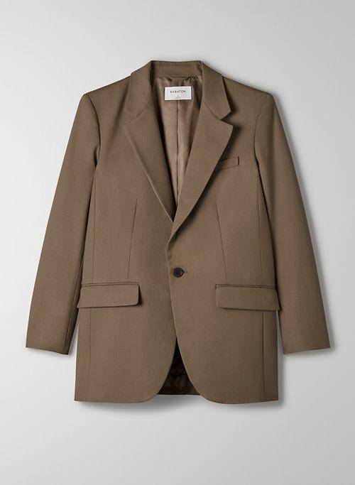 AGENCY BLAZER - Relaxed single-breasted blazer