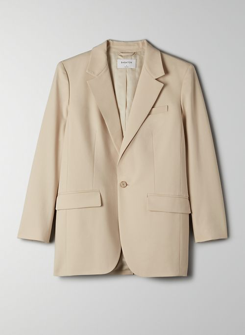 AGENCY BLAZER - Relaxed single-breasted blazer