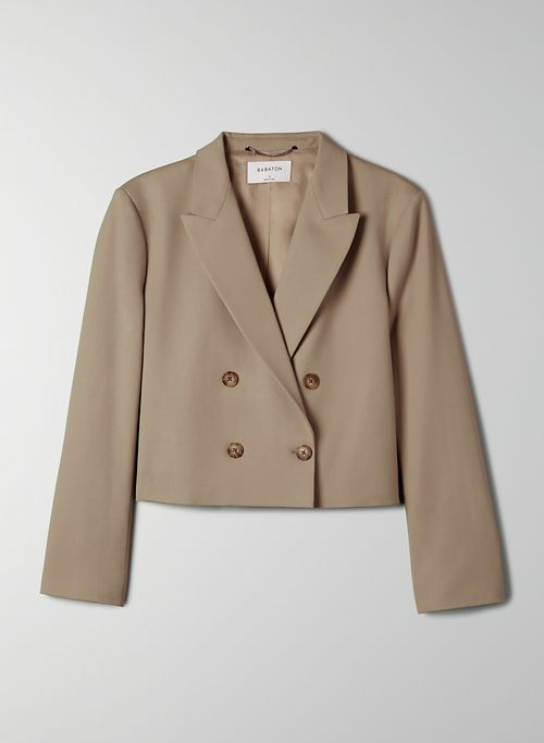LALONDE BLAZER - Cropped double-breasted blazer