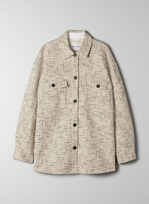 JOAN SHIRT JACKET - Tweed shirt jacket